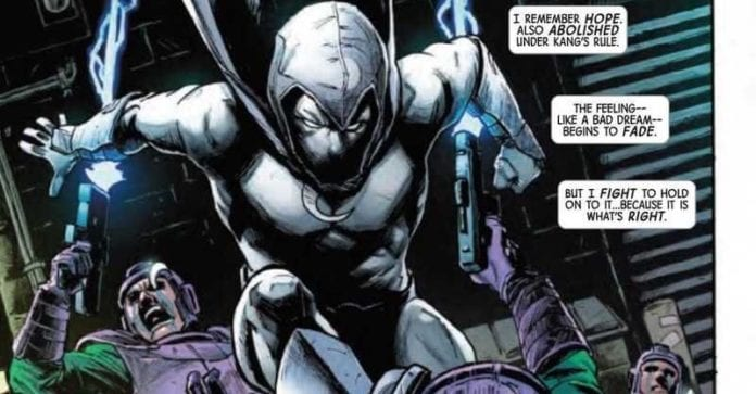 MOON KNIGHT ANNUAL #1 - Moon Knight Unlimited VS Kang The Conqueror 6