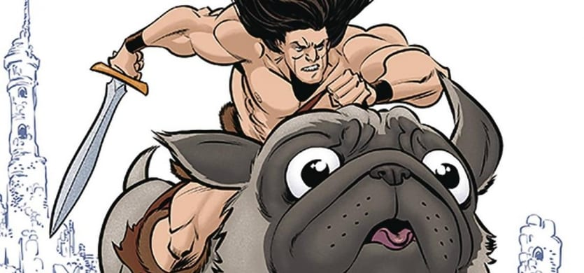 Review: BATTLEPUG #1 Is A Hysterical, Pug-filled Adventure 1