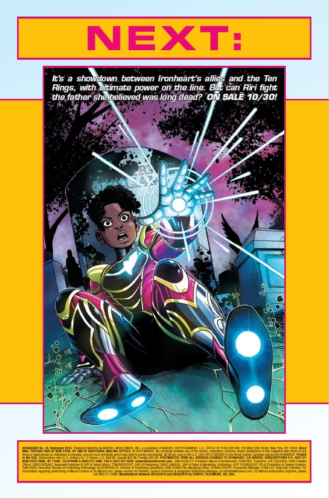 A New Team Forms in IRONHEART #10 4