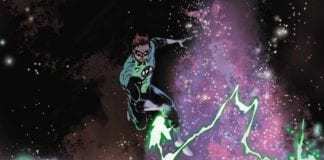 THE GREEN LANTERN #11 variant cover artwork