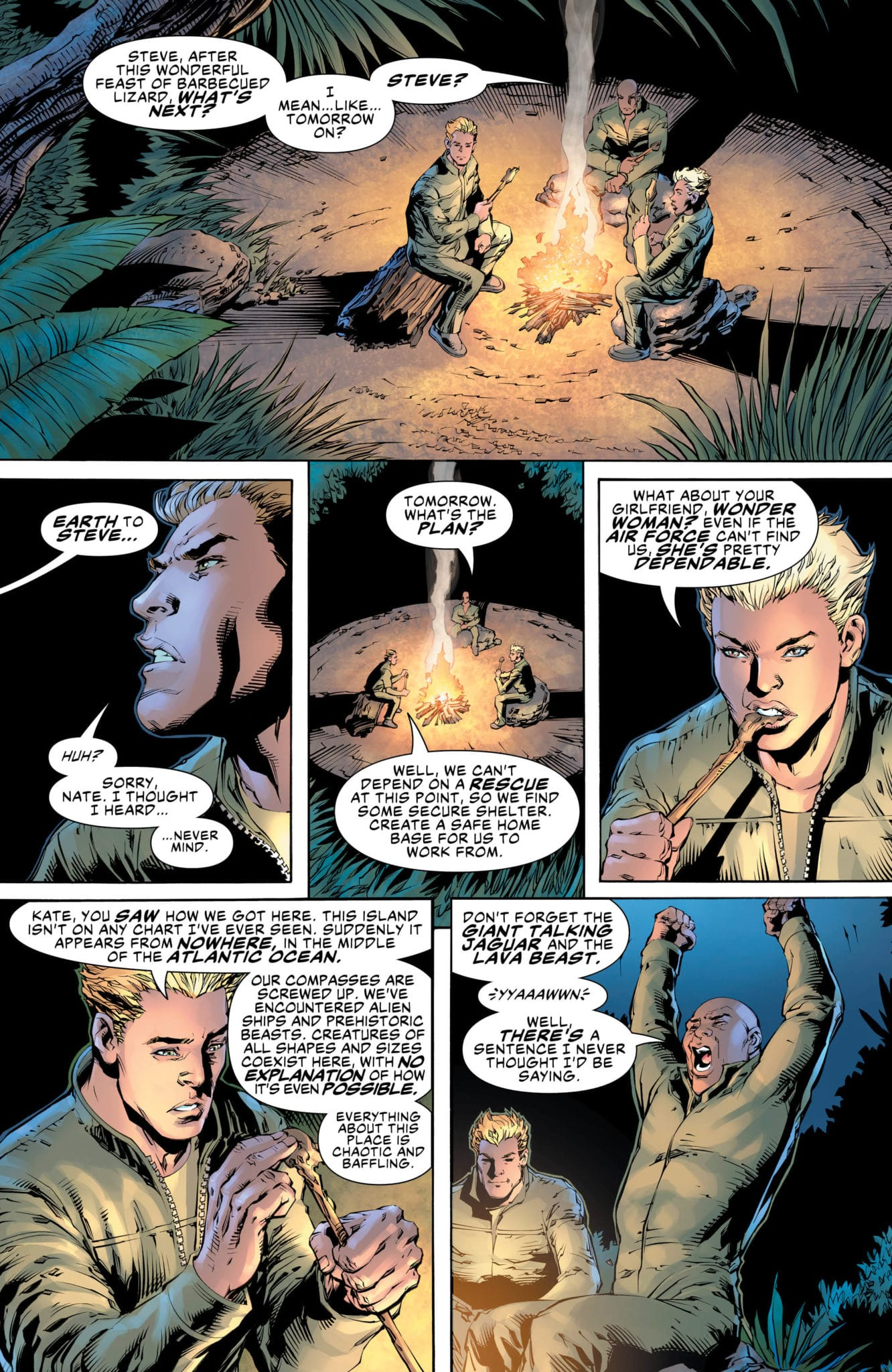 What A Dangerous World In WONDER WOMAN COME BACK TO ME #3 3