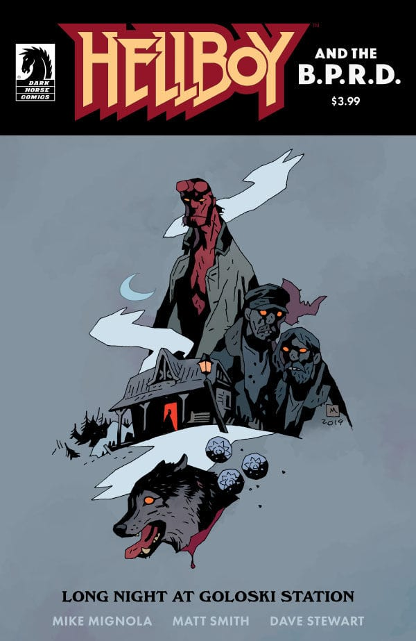 HELLBOY AND THE B.P.R.D.: LONG NIGHT AT GOLOSKI STATION 4
