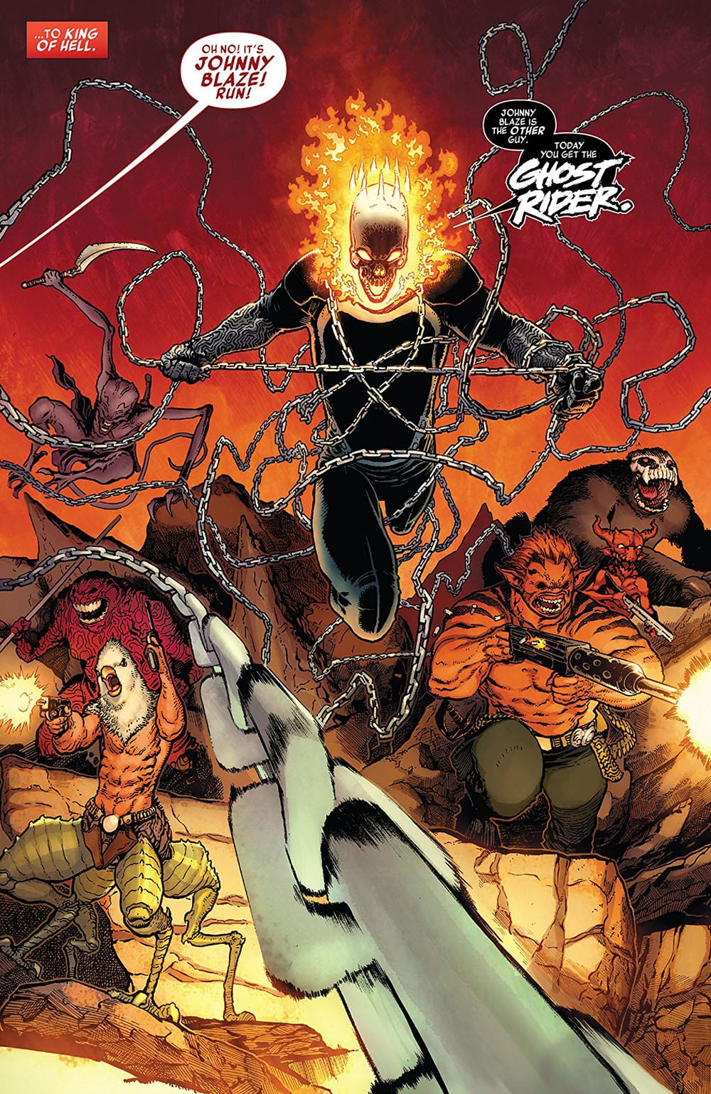 Review: Marvel's GHOST RIDER #1 Begins One Hell of a Story 4