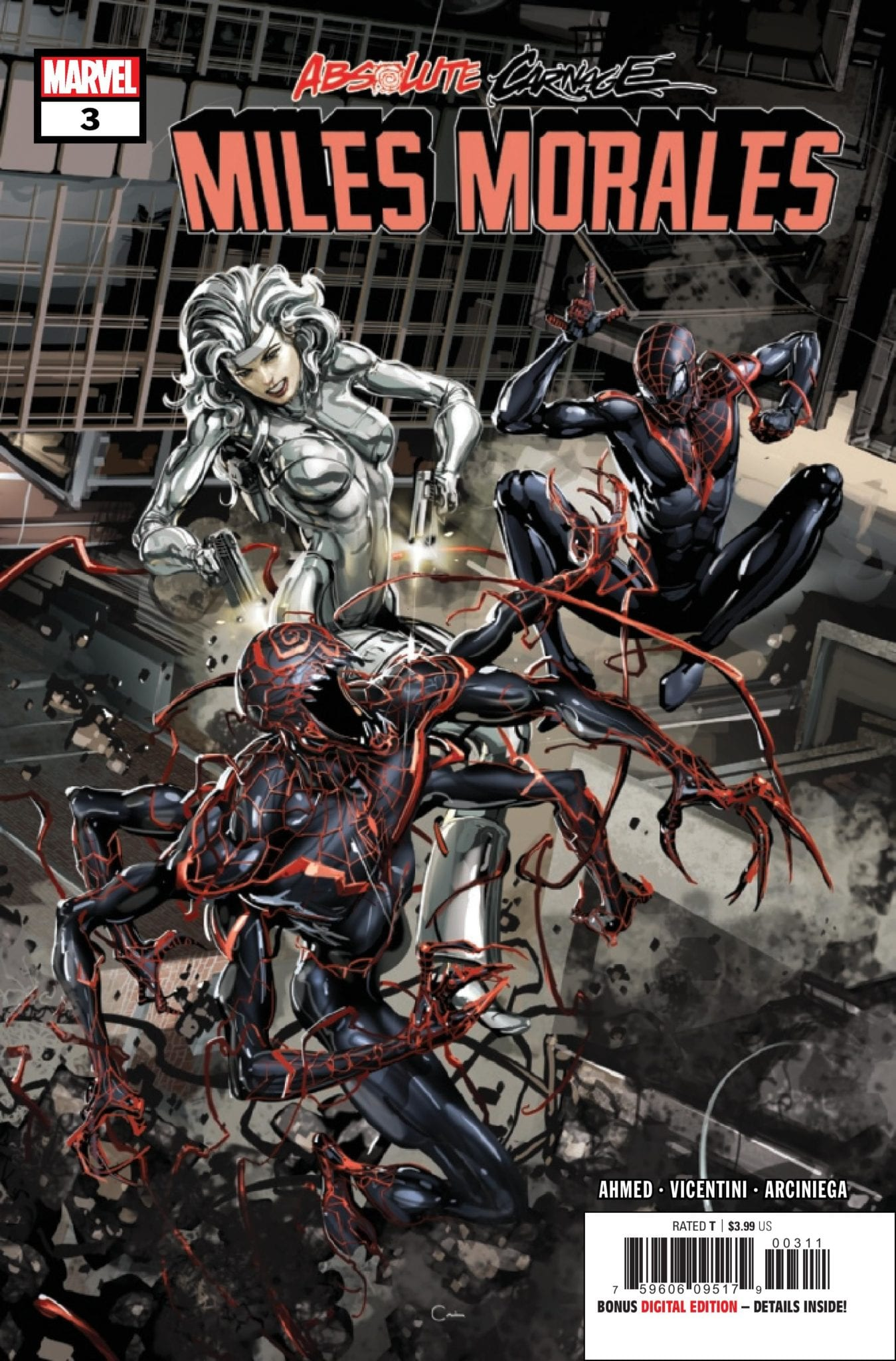 Exclusive Preview: ABSOLUTE CARNAGE: MILES MORALES #3