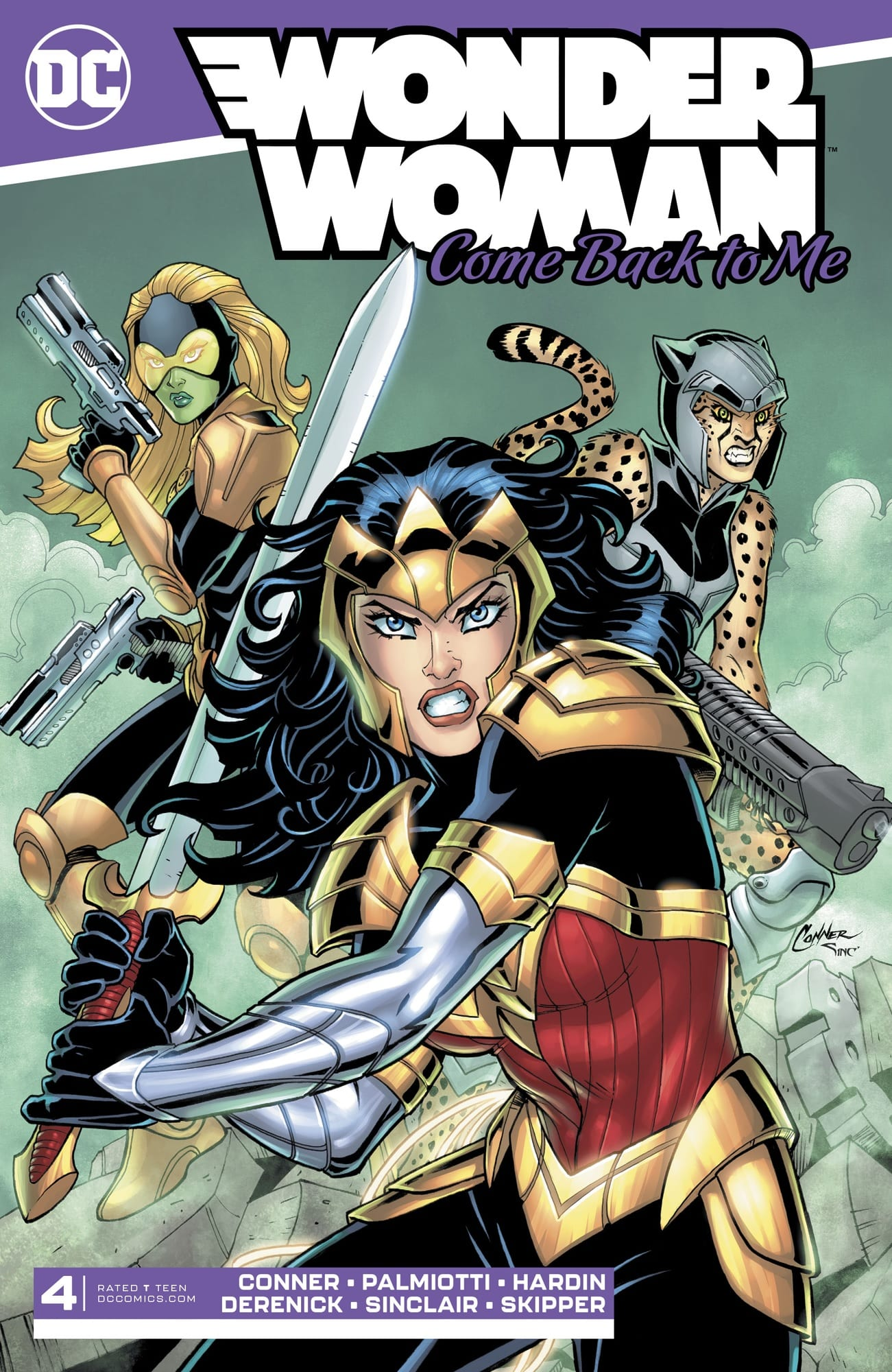 A Surprise Twist in WONDER WOMAN COME BACK TO ME #4 1