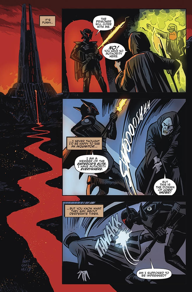 A Journey Ends in STAR WARS ADVENTURES: RETURN TO VADER'S CASTLE #5 2