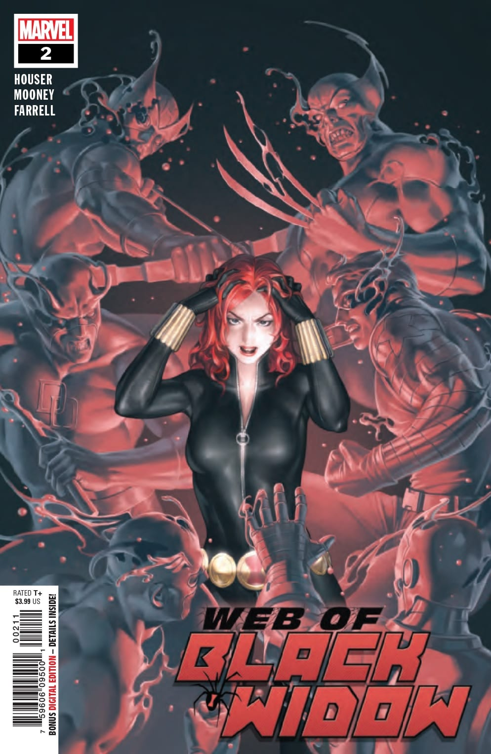 The Plot Thickens in WEB OF BLACK WIDOW #2 1
