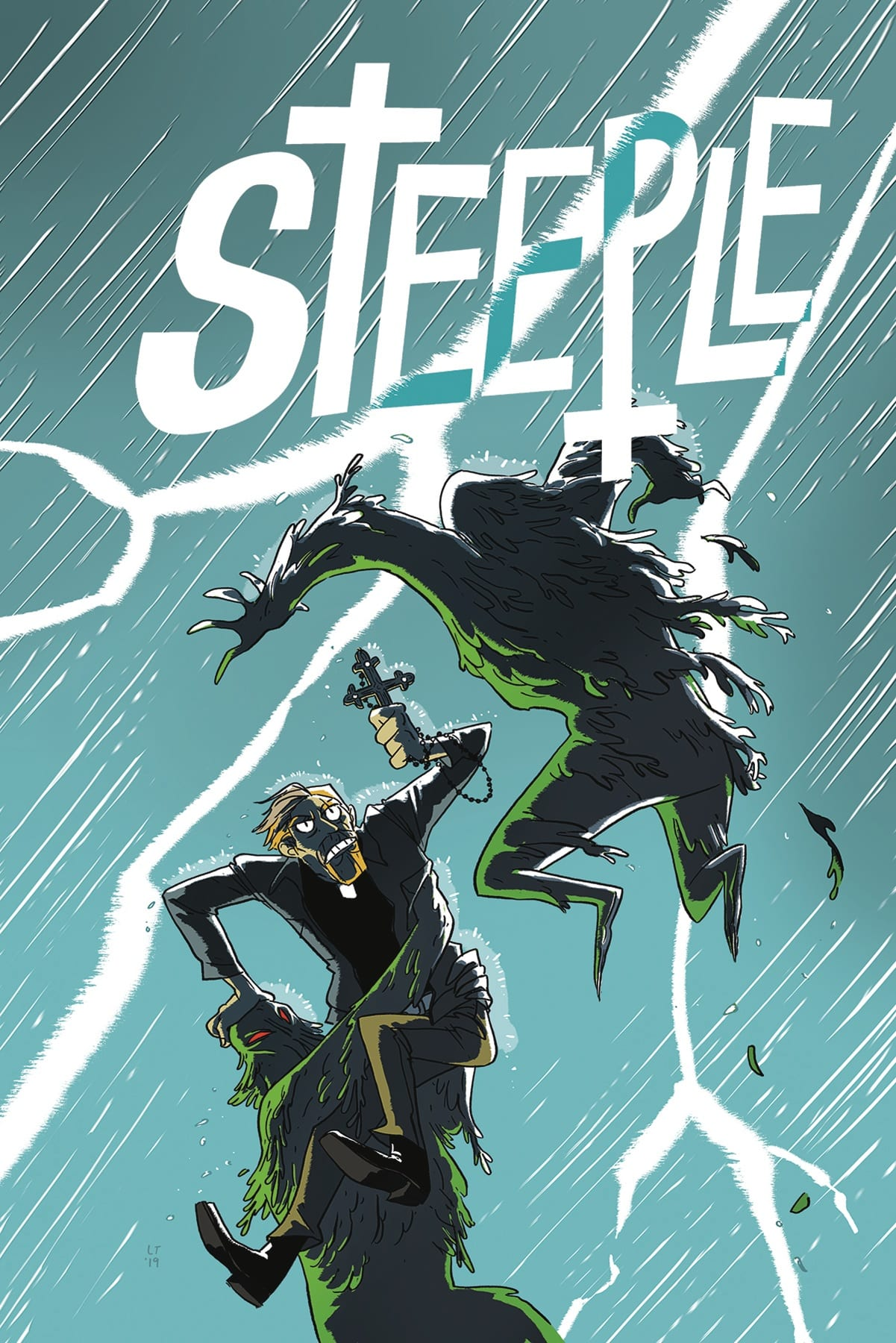 STEEPLE #2 - There's More Than One Way to Fight Evil 2