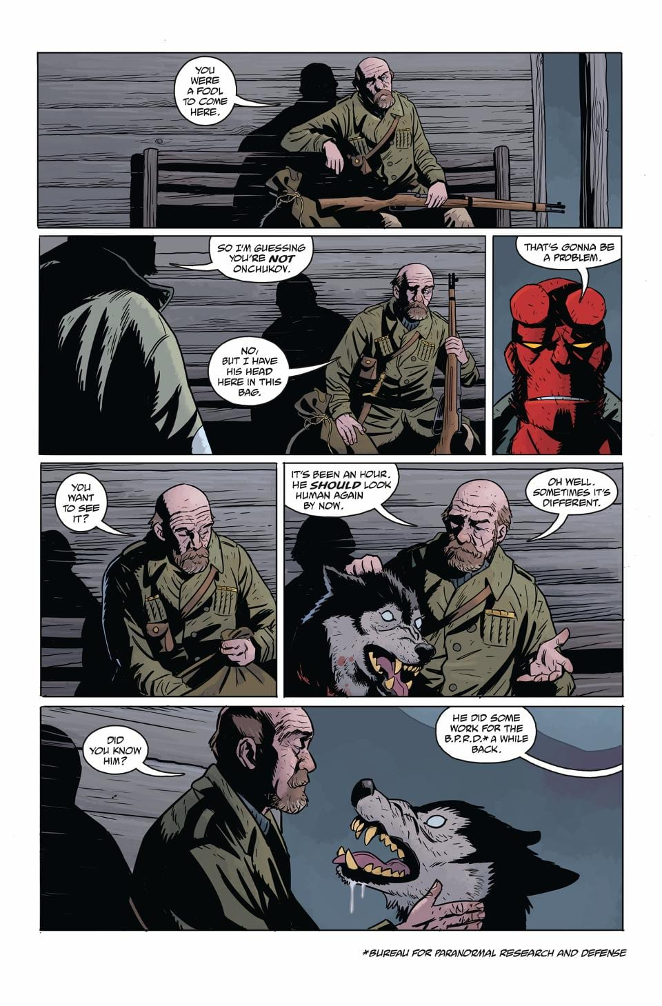 HELLBOY AND THE B.P.R.D.: LONG NIGHT AT GOLOSKI STATION 2