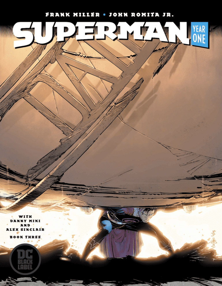 Superman Year One #3 cover
