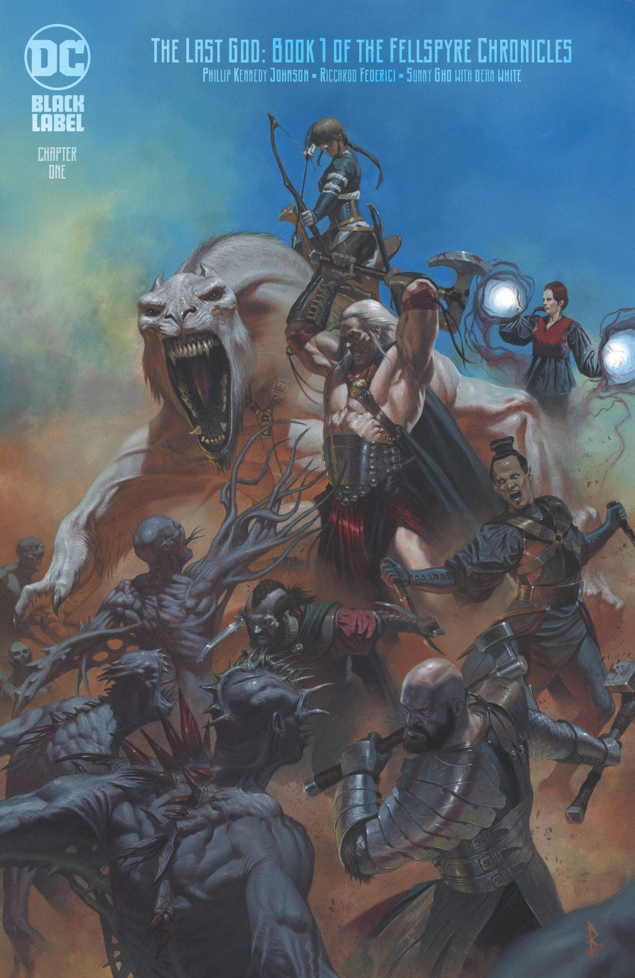 Review: THE LAST GOD #1 - High Art, Low Fantasy 5