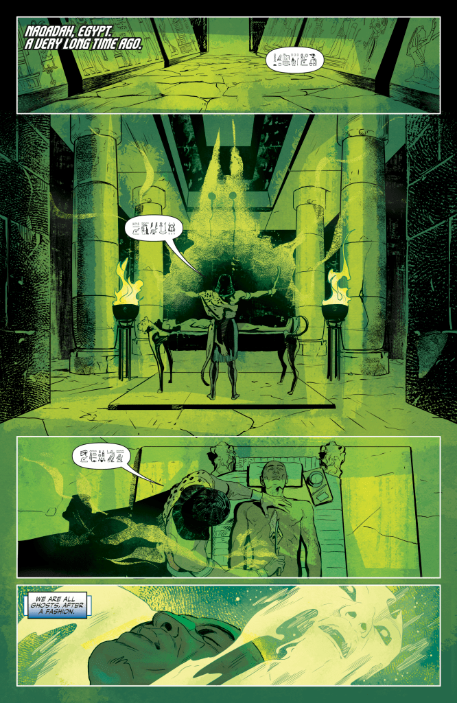 Review: Oh, The Places You'll Go In DOCTOR MIRAGE #3 1