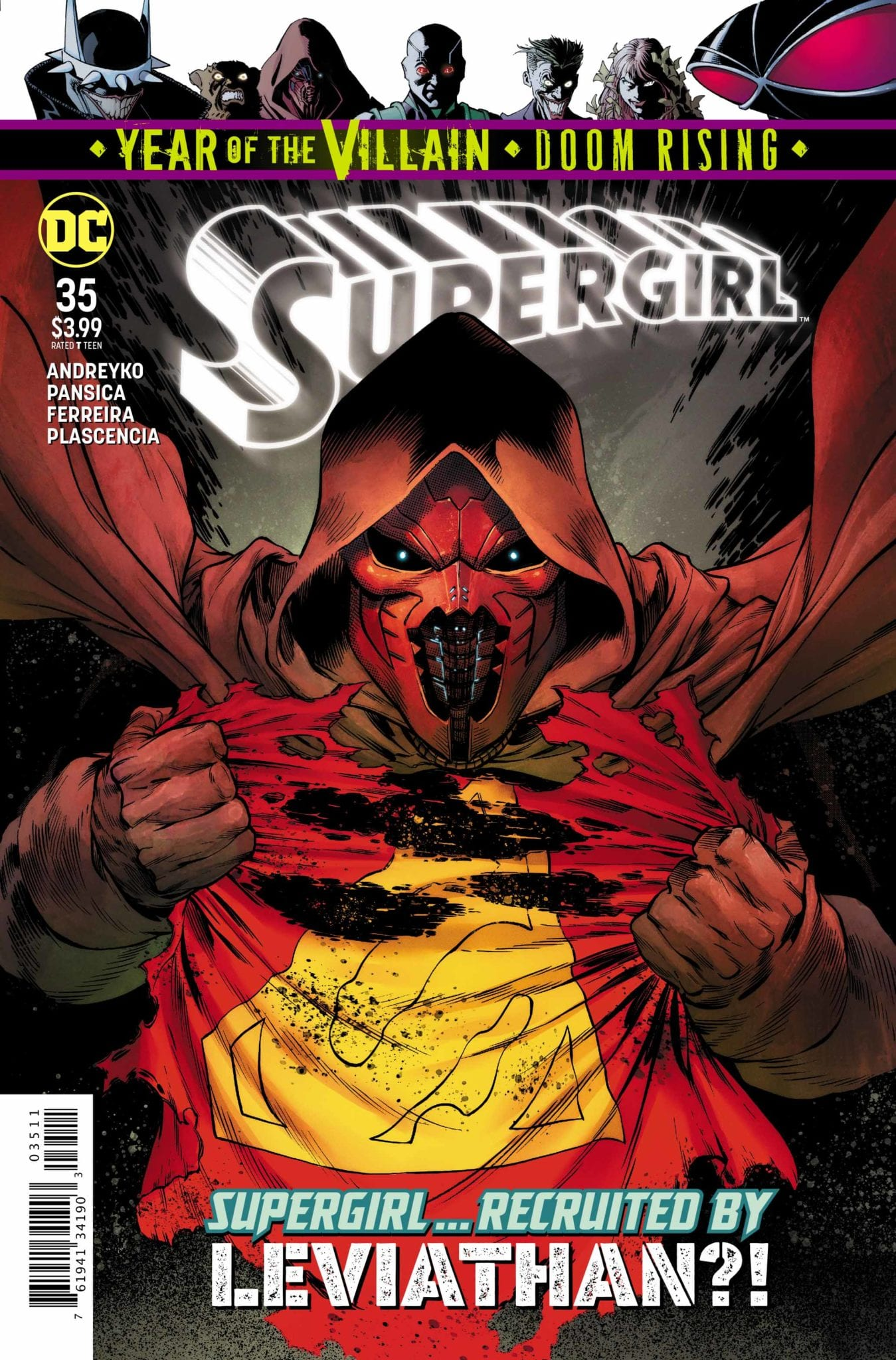 Exclusive DC Comics Preview: SUPERGIRL #35