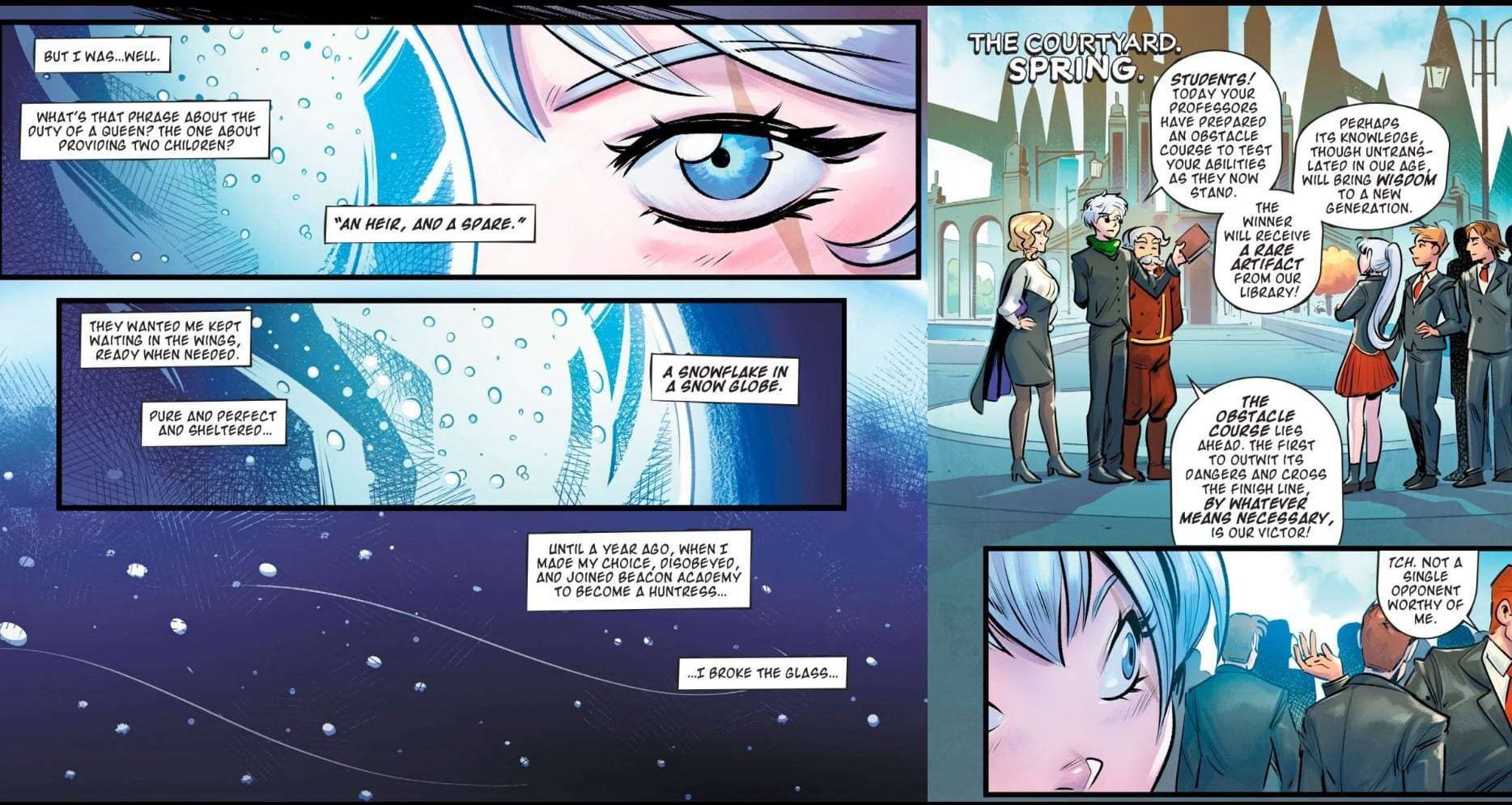 DC Comics' RWBY Holds True To Source, While Creating Something New 2