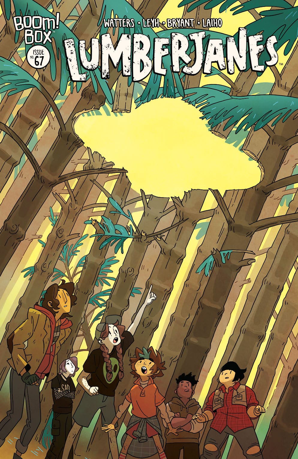 LUMBERJANES #67 - A Strong Reminder Why We Love This Series 1