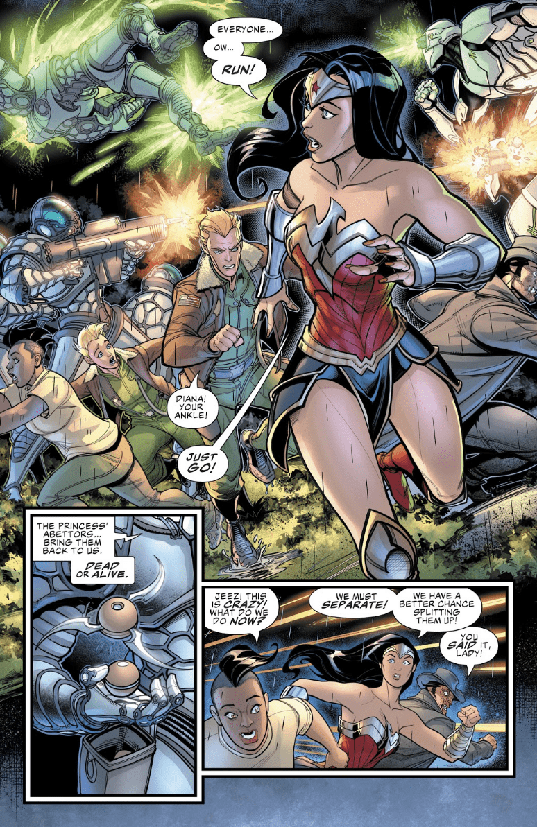 WONDER WOMAN COME BACK TO ME #4