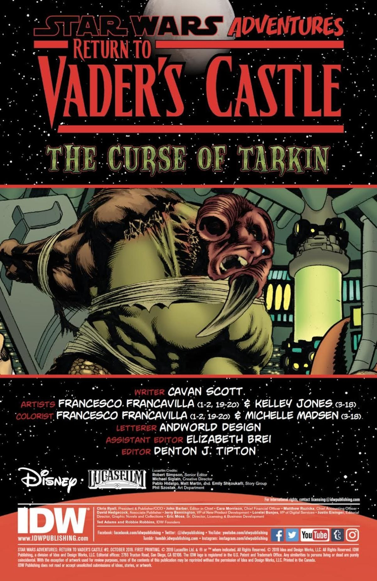 Turning the Tables in STAR WARS ADVENTURES: RETURN TO VADER'S CASTLE #2 3