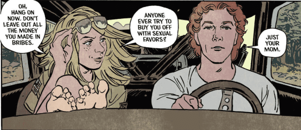 Review: BASKETFUL OF HEADS #1- Glorious 80's Summer Camp Horror 5