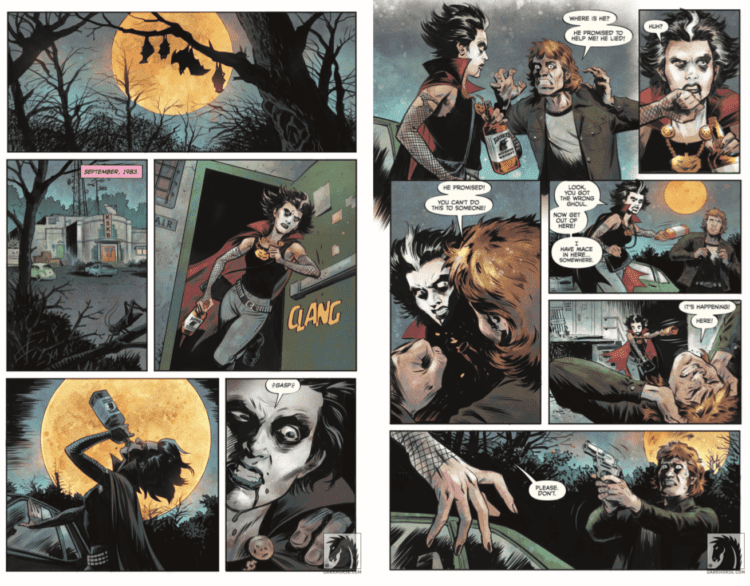 Review: Booze, Monsters, & B-Horror in COUNT CROWLEY: RELUCTANT MIDNIGHT MONSTER HUNTER #1 2