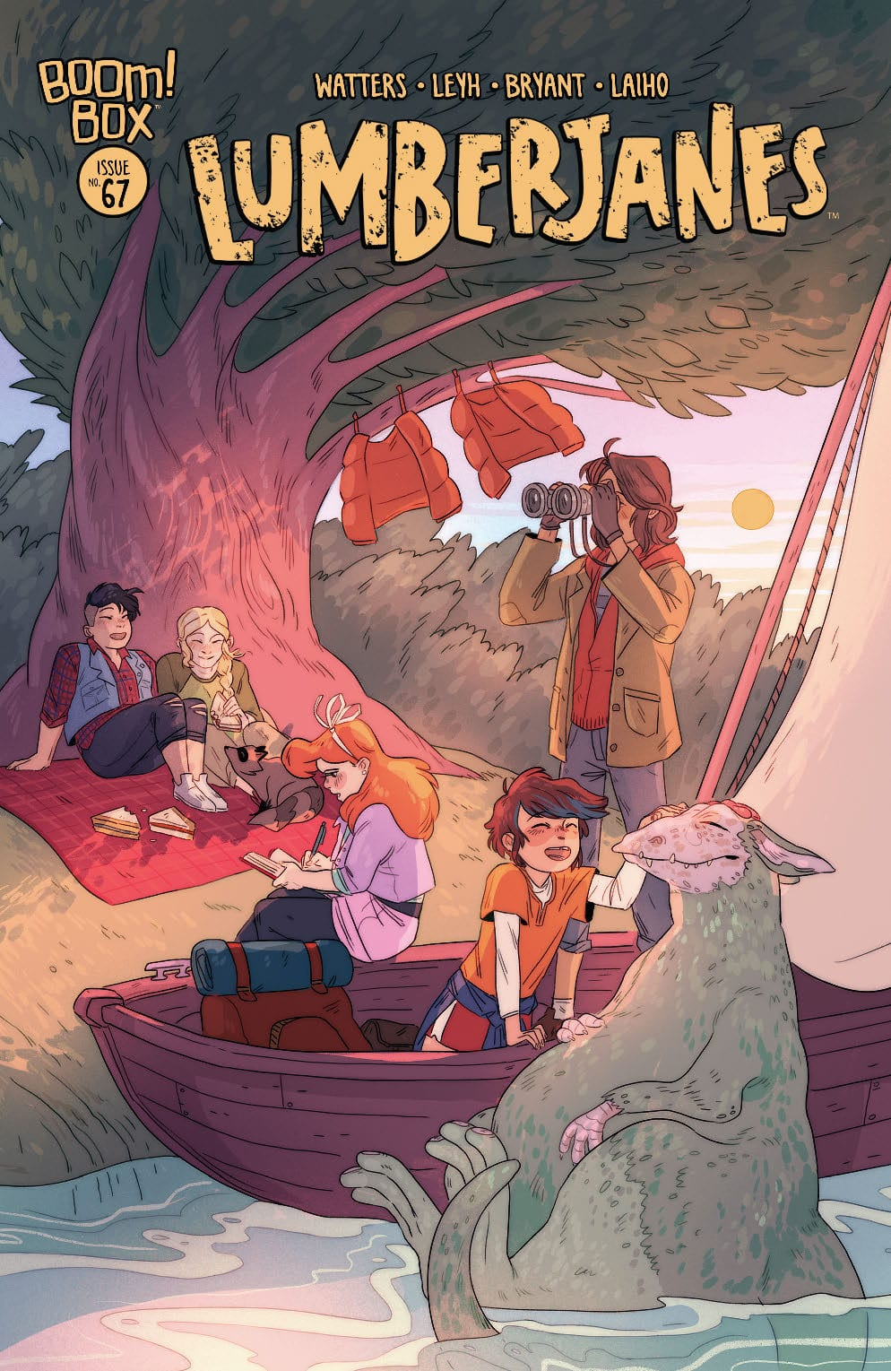 LUMBERJANES #67 - A Strong Reminder Why We Love This Series 2