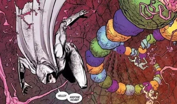 Moon Knight fights the Urchin