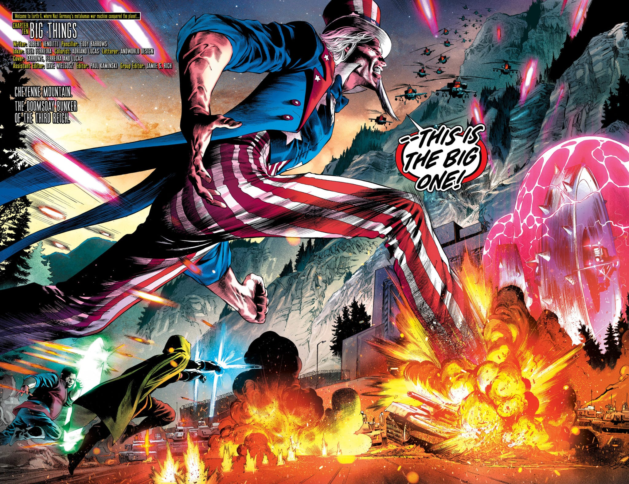 DC comics freedom fighers exclusive preview