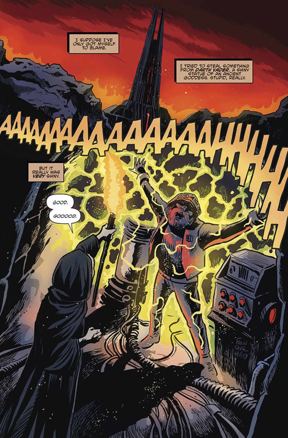 Turning the Tables in STAR WARS ADVENTURES: RETURN TO VADER'S CASTLE #2 4