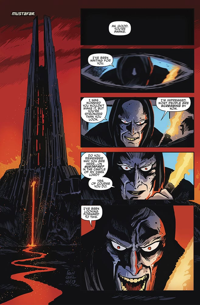 The Tale Continues in STAR WARS ADVENTURES: RETURN TO VADER'S CASTLE #1 2