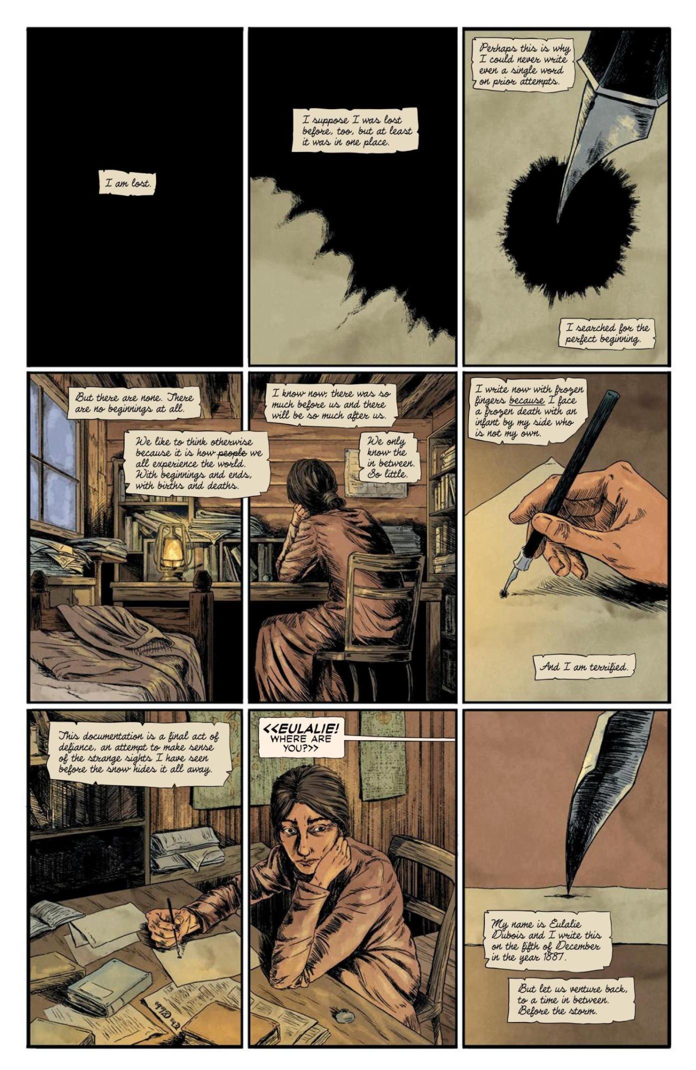 Review: BLACK STARS ABOVE Lights Up VAULT Comics Horror 3