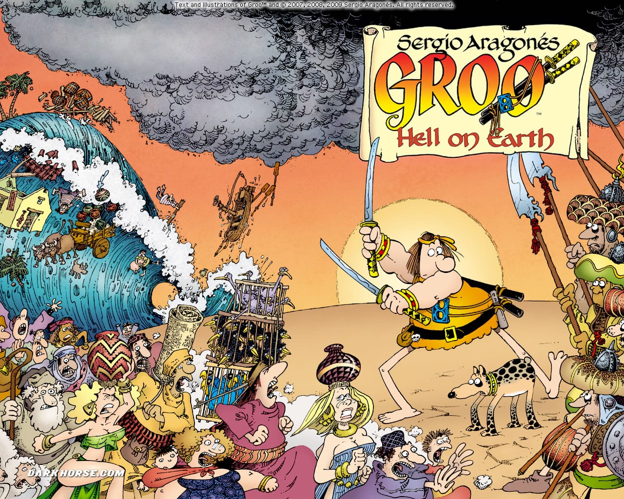 How GROO Changed My Concept of What A Comic Book Could Be 2