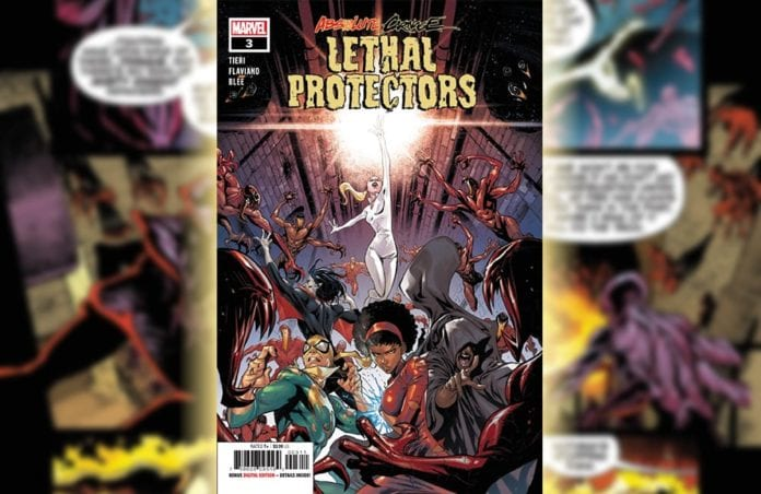 Exclusive Preview: ABSOLUTE CARNAGE: LETHAL PROTECTORS #3 - Deathlok Unloads! 4