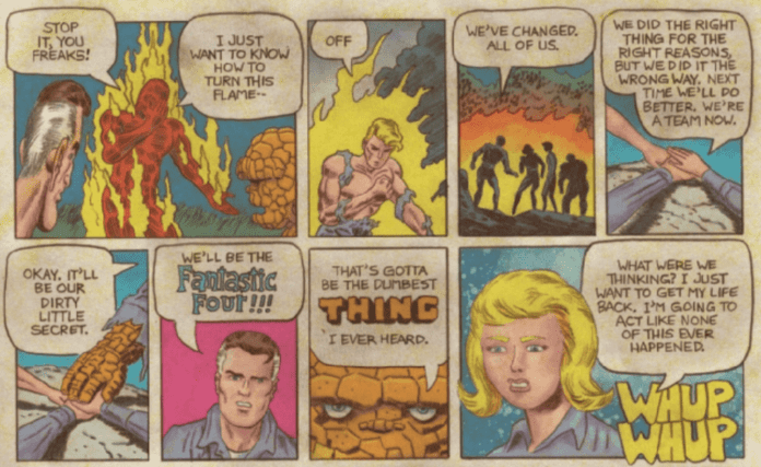 Review: FANTASTIC FOUR: GRAND DESIGN Crackles With Comic Book Joy 5