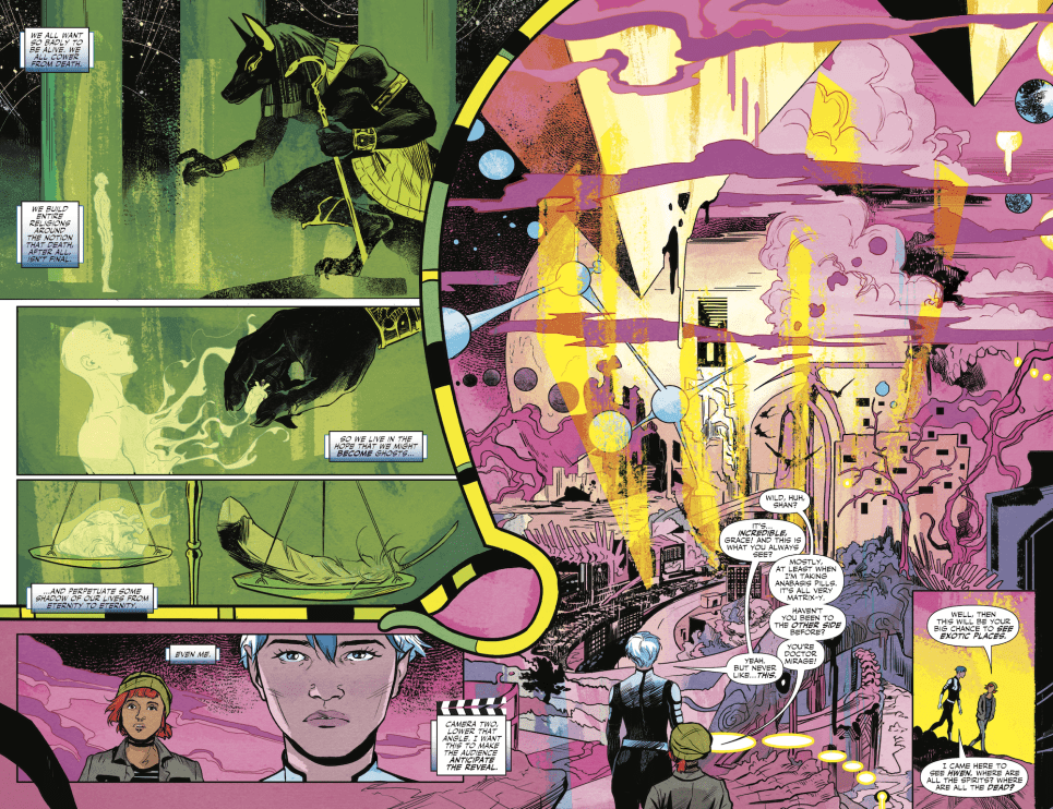 Review: Oh, The Places You'll Go In DOCTOR MIRAGE #3 2