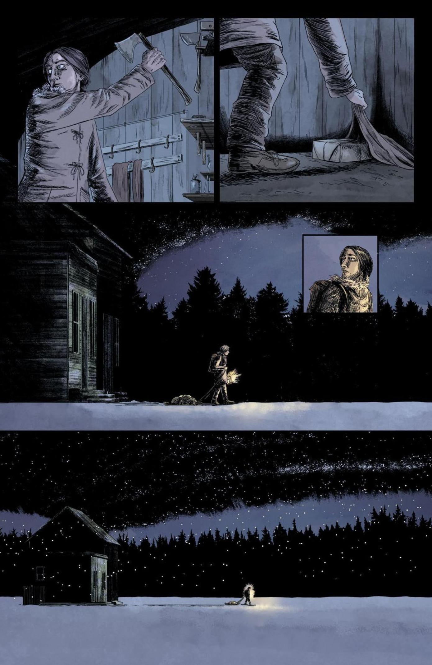 Review: BLACK STARS ABOVE Lights Up VAULT Comics Horror 4