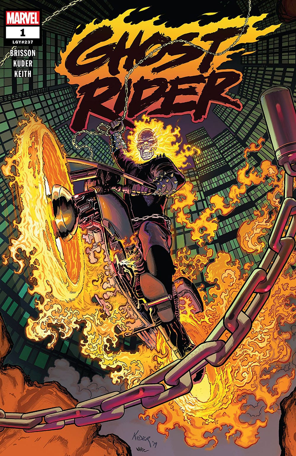Review: Marvel's GHOST RIDER #1 Begins One Hell of a Story 1