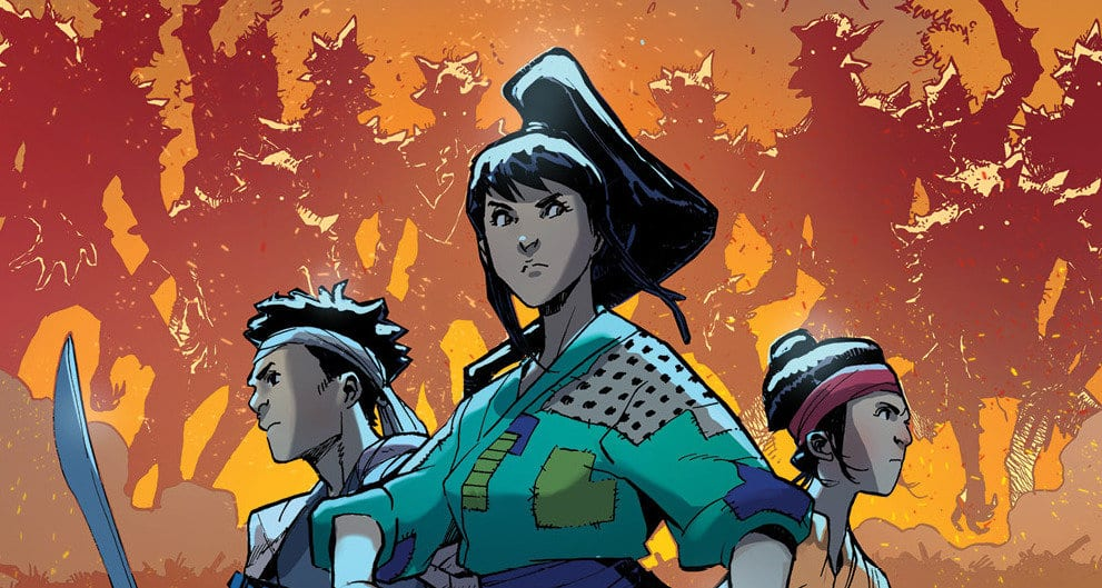 "Review: RONIN ISLAND #7 Asks, ""How Should We Fight Oppression?"" 1"