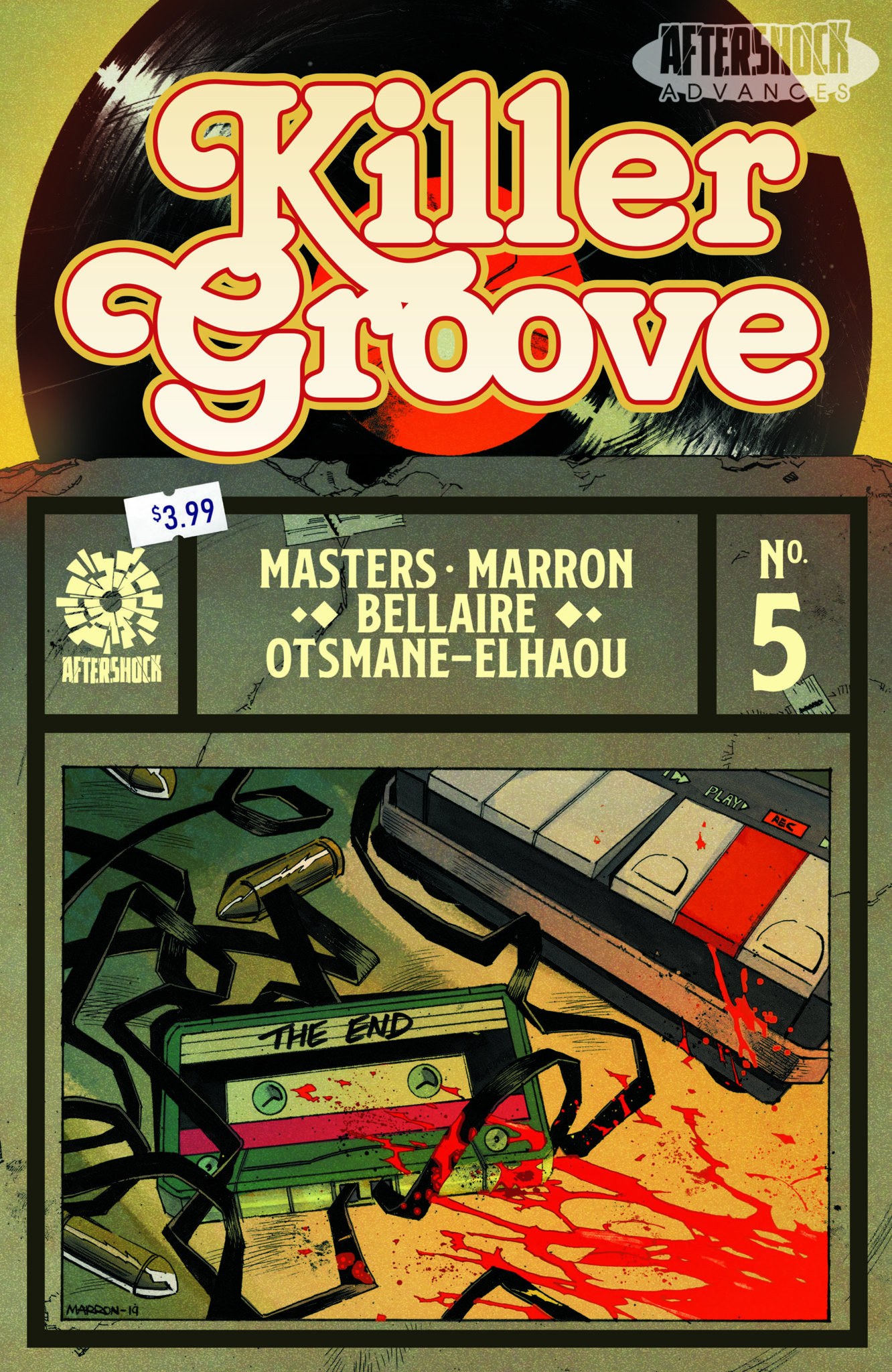 Exclusive Preview: KILLER GROOVE #5