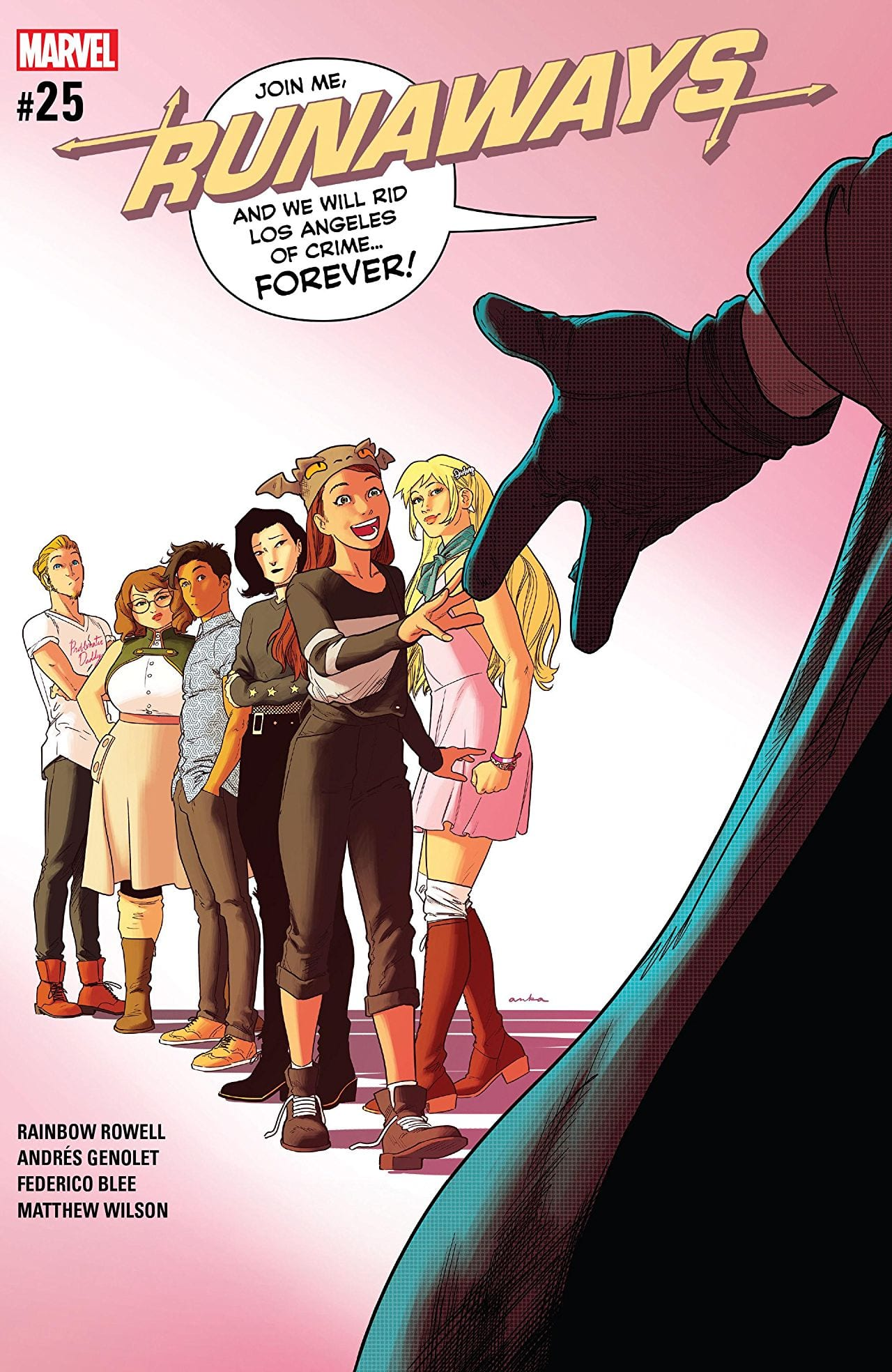 RUNAWAYS #25: Who Is Doc Justice? 1