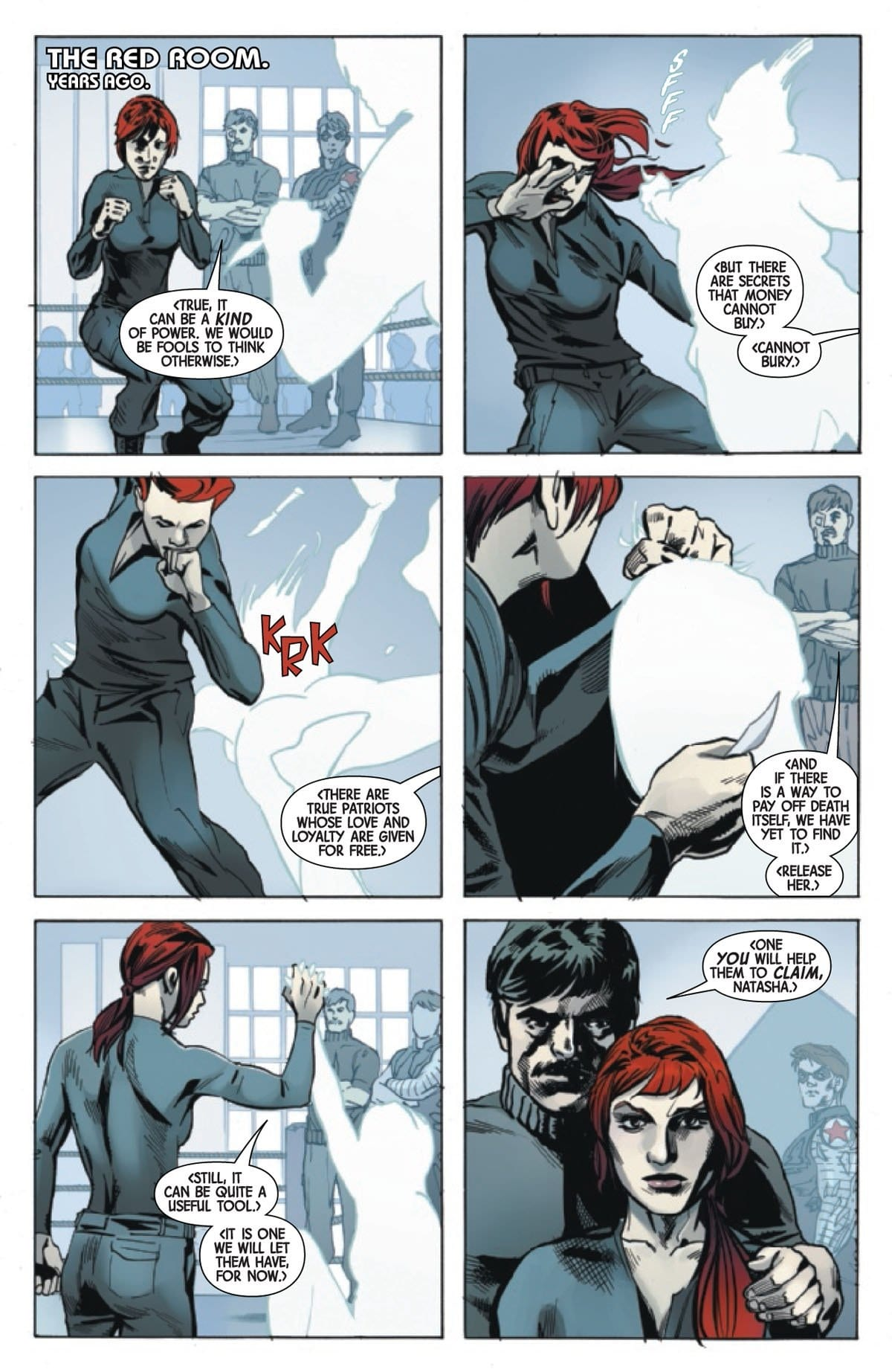The Plot Thickens in WEB OF BLACK WIDOW #2 3