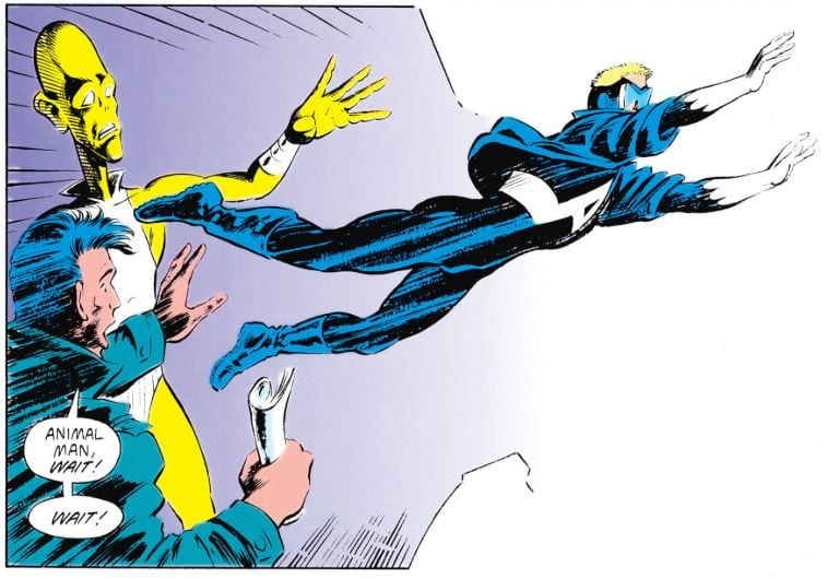 How Grant Morrison's ANIMAL MAN Changed My Concept of What a Comic Book Could Be 2