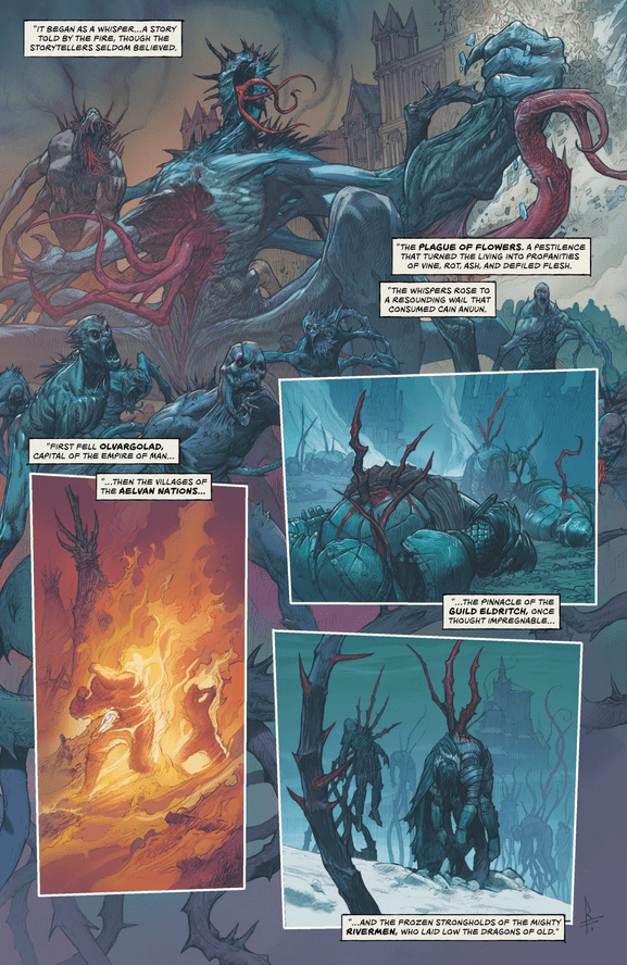 Review: THE LAST GOD #1 - High Art, Low Fantasy 2