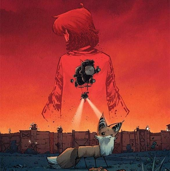 MIDDLEWEST #12 cover artwork