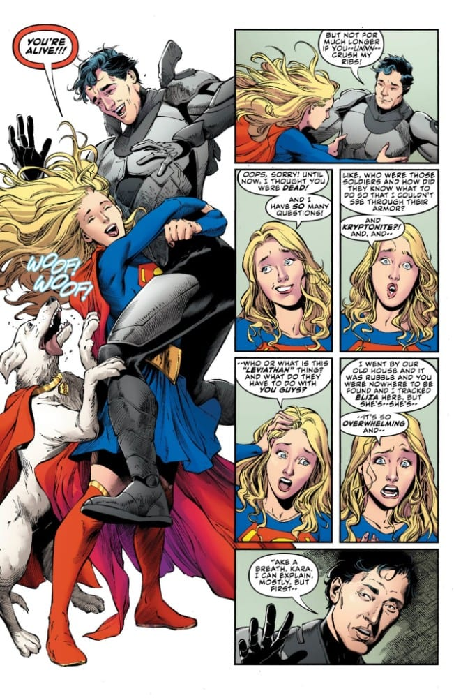 Supergirl #35 Credit: DC Comics
