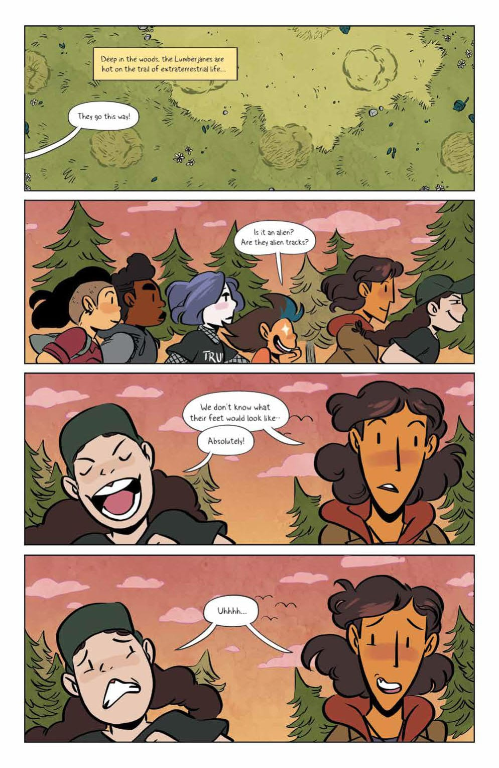 LUMBERJANES #67 - A Strong Reminder Why We Love This Series 3