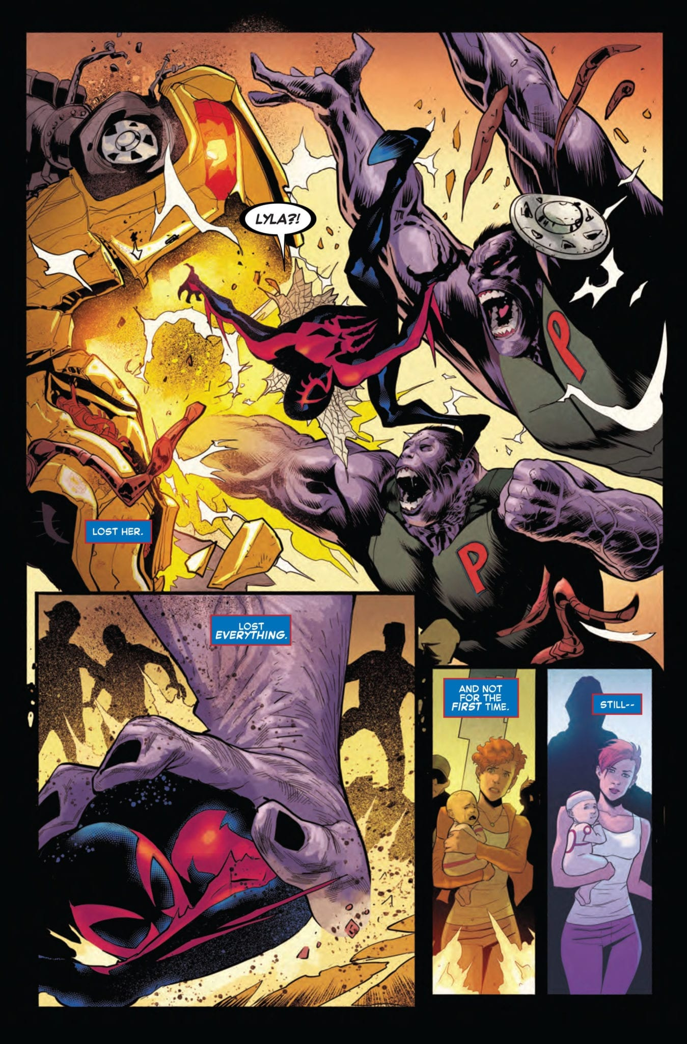amazing spider-man 33 exclusive marvel comics preview