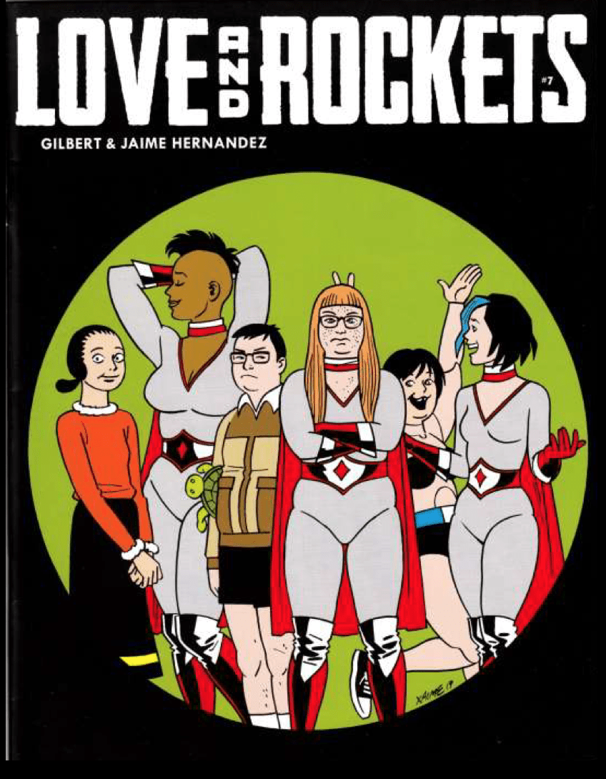 Where You Forget It's Just Lines on Paper: Love and Rockets Co-Creator Jaime Hernandez at MICE