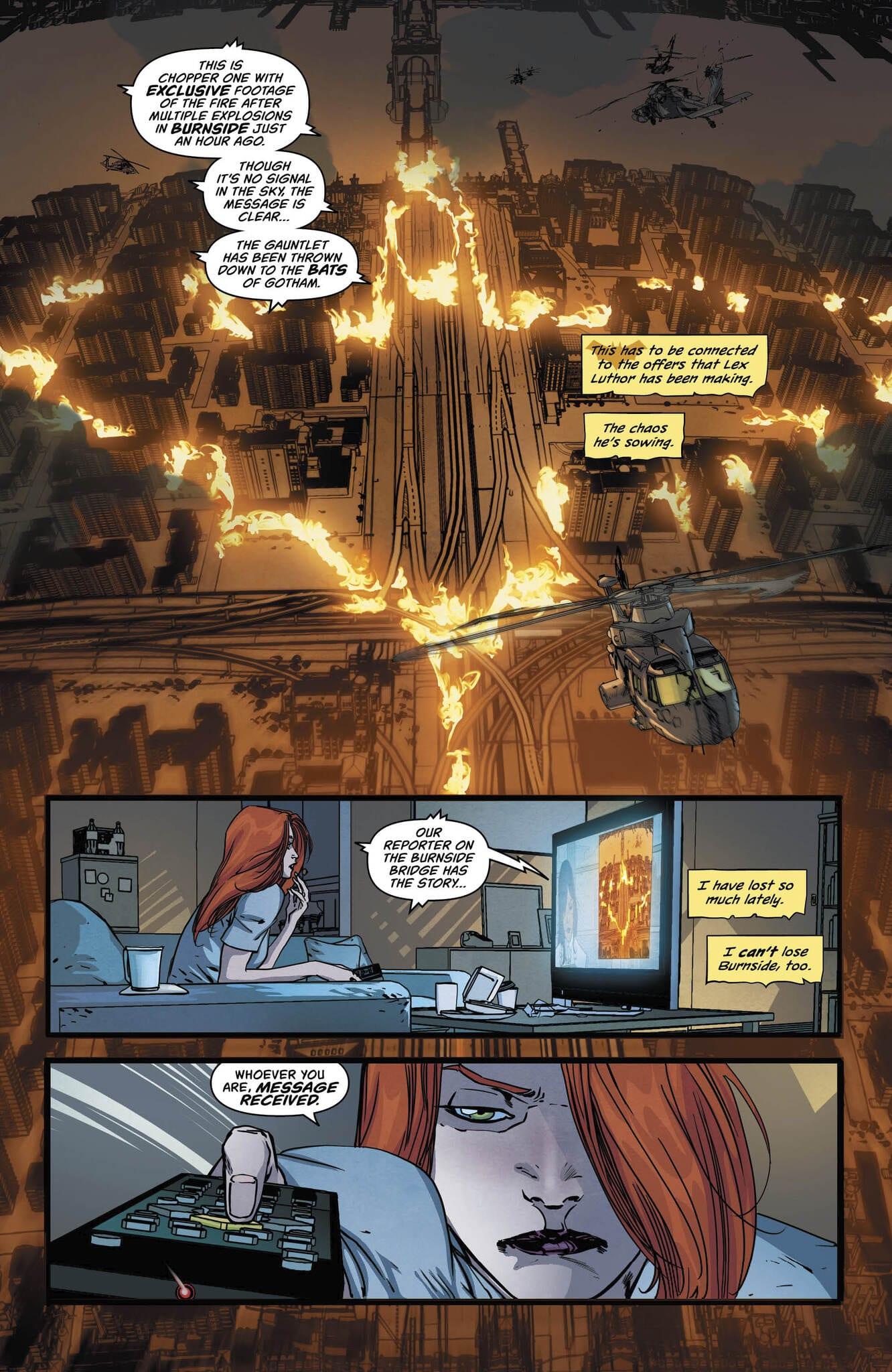 Oracle Lives In BATGIRL #40 2