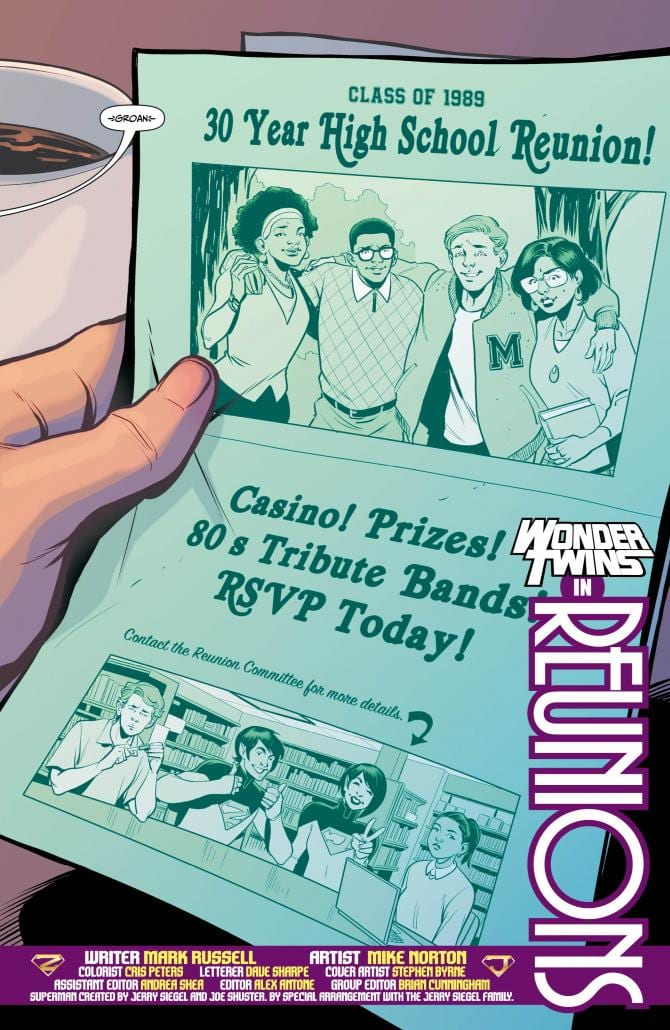 WONDER TWINS #8 - A Tale of Reunions Unravels 3