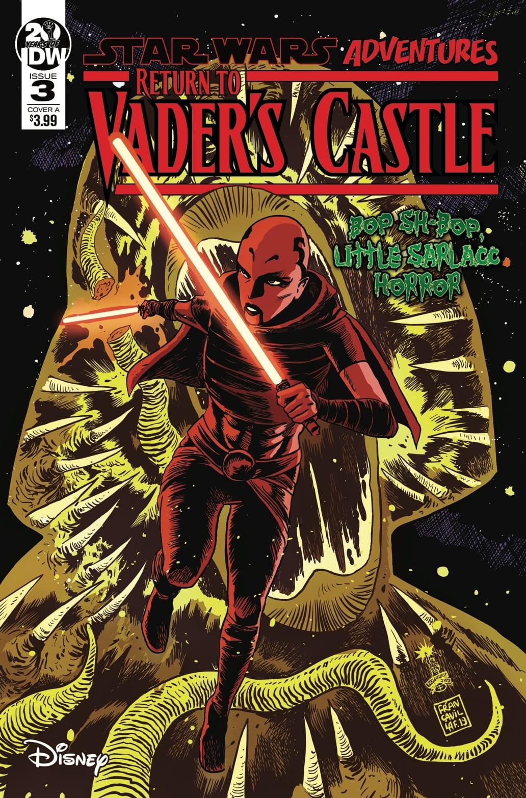 Review - STAR WARS ADVENTURES: RETURN TO VADER'S CASTLE #3 1