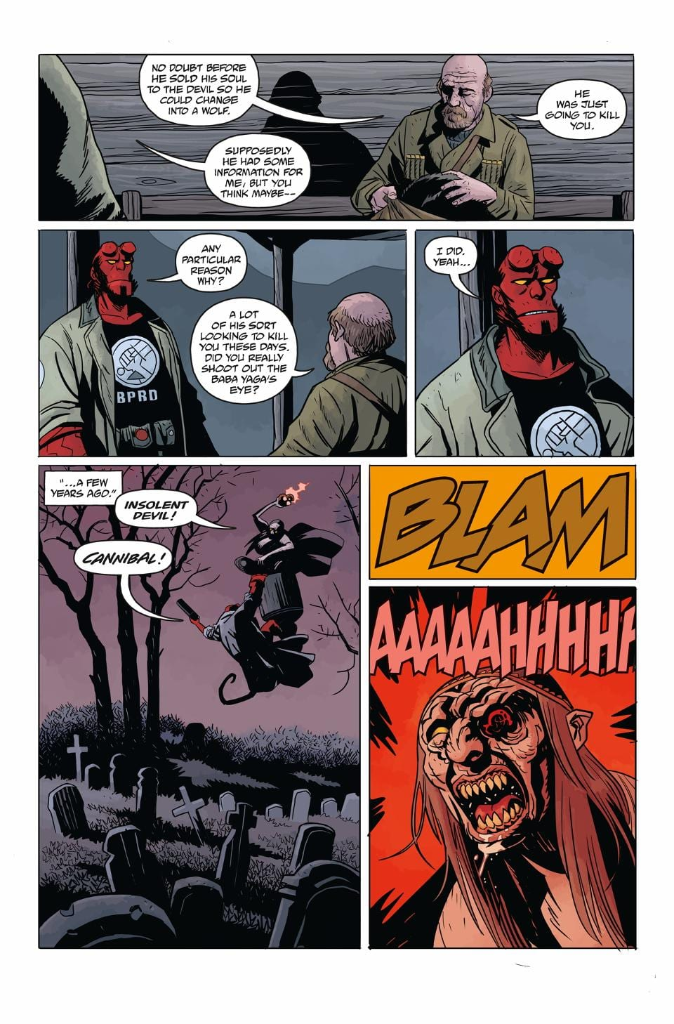 HELLBOY AND THE B.P.R.D.: LONG NIGHT AT GOLOSKI STATION 3